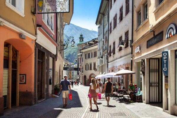 Via dei Bottai di Bolzano - Antico ingresso in città