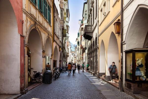 Via dei Portici di Bolzano