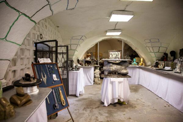 Atelier artigiano nel borgo degli artisti