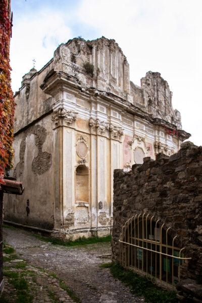 Resti della Chiesa di Sant'Egidio - Chiesa principale del borgo ligure