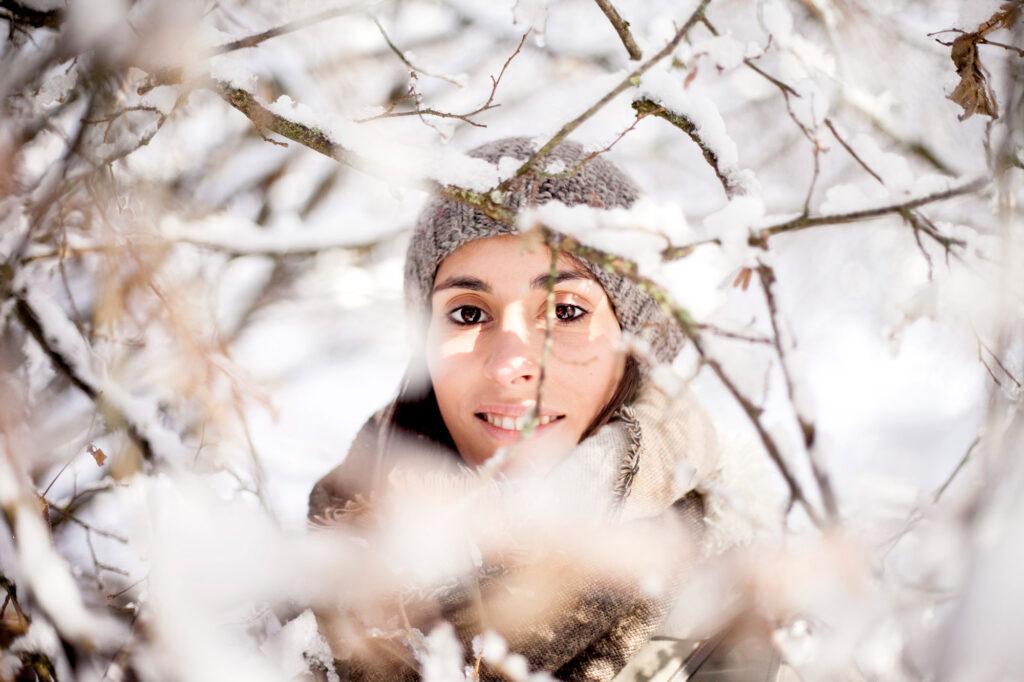 Ritratto nella neve