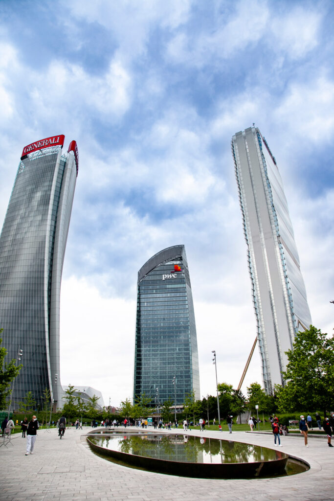 I grattacieli di CityLife