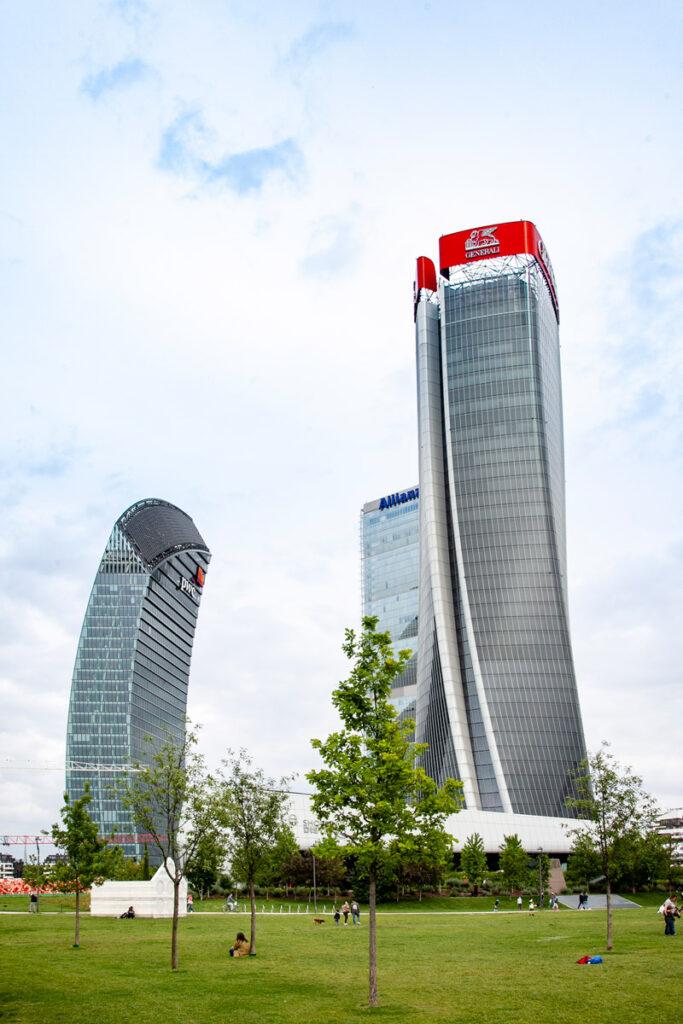 I tre grattacieli di CityLife