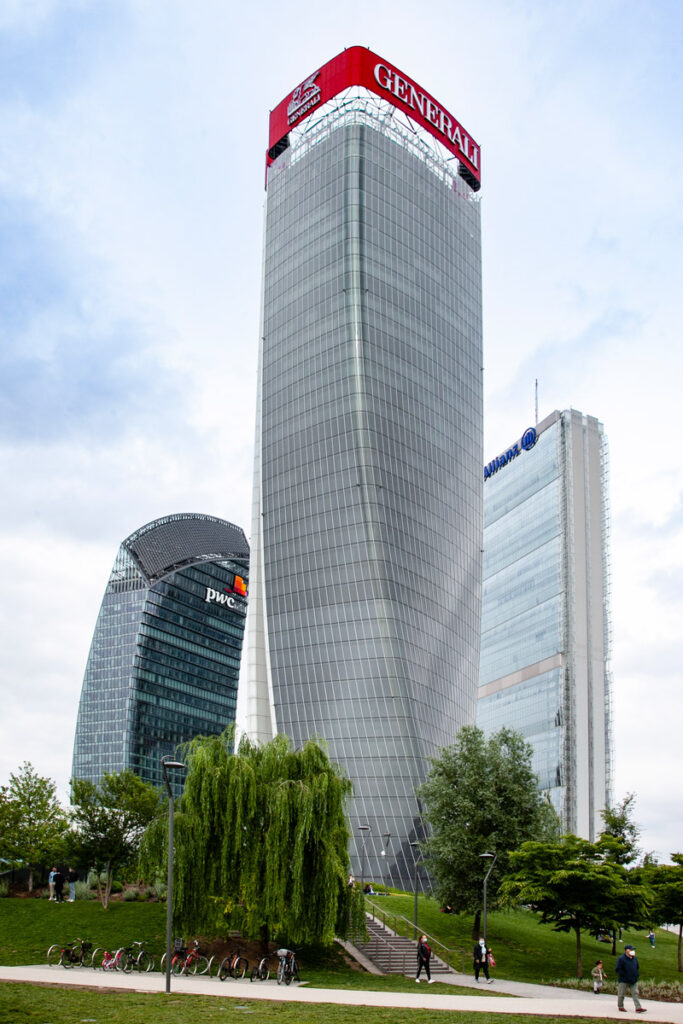 Le tre torri di CityLife - Grattacieli a Milano