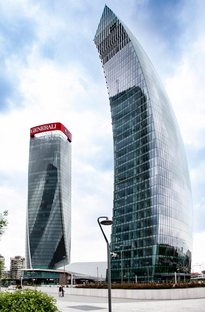 Lo storto e il Curvo di CityLife - Milano