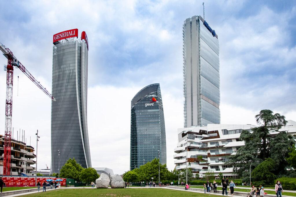 Skyline di Milano - i grattacieli di CityLife