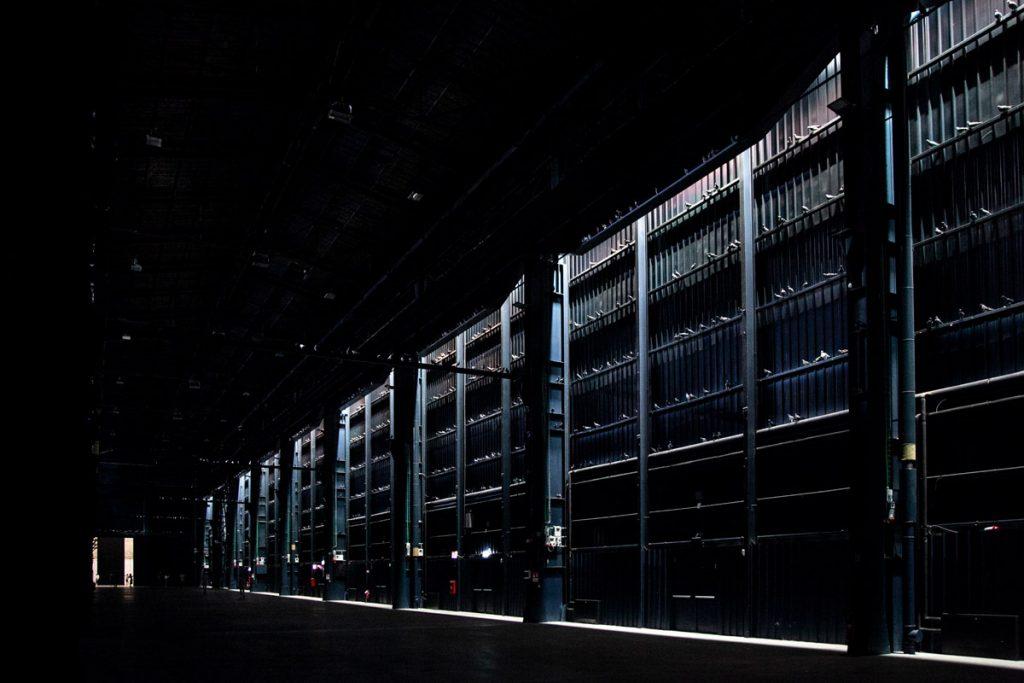 I piccioni di Ghosts di Maurizio Cattelan a Milano - Hangar Bicocca Breath Ghosts Blind