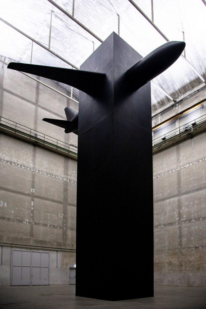 Il ricordo dell'11 Settembre in Blind - Opera di Maurizio Cattelan